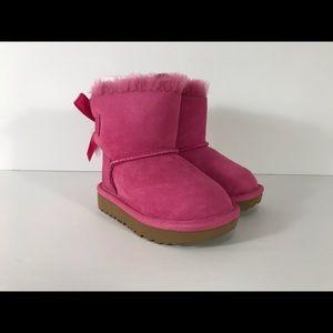 Ugg Australia Mini Bailey Bow II Suede Boots